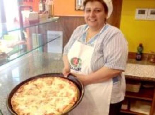 Pizza alta al trancio Traversetolo Parma
