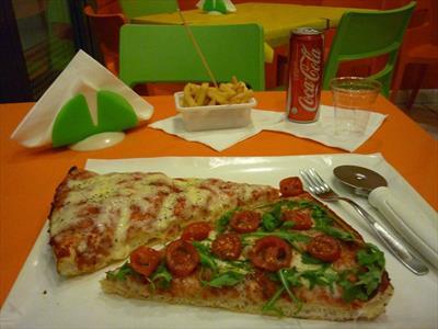 Pizza alta al trancio Parma Traversetolo