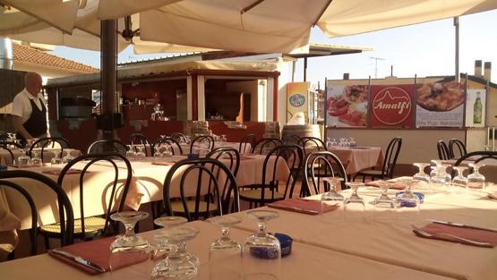 Terrazza ristorante Prato