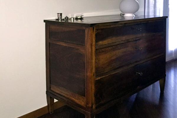 Restauro mobili legno Fontanella Bergamo