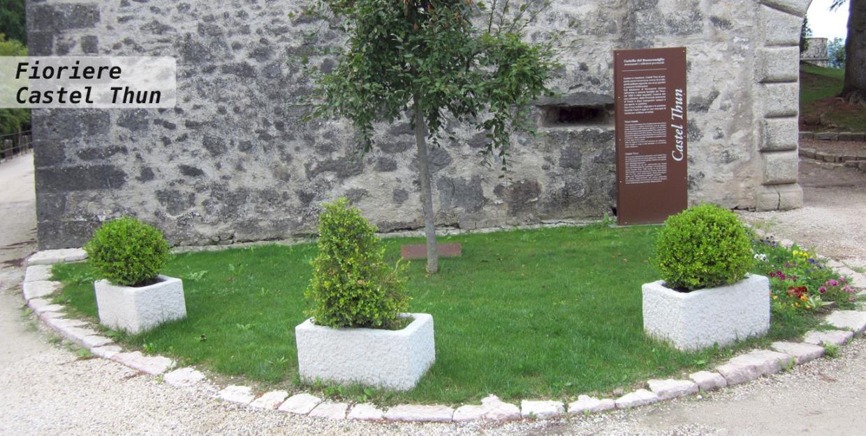 Fioriere Castel Thun