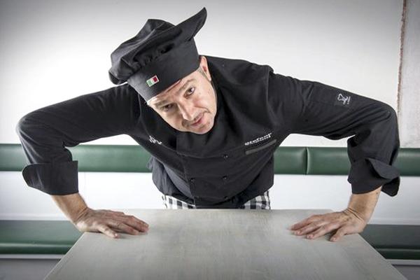 Lo Chef Stefano Caponi
