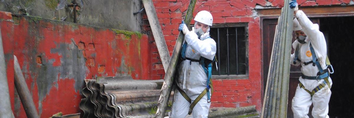 Operai specializzati smaltimento amianto
