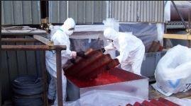 Operai specializzati bonifica amianto