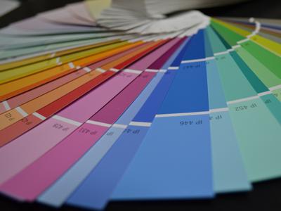 ventaglio colori