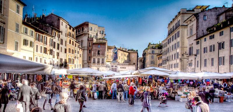 affitto appartamenti campo de' fiori Roma centro