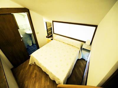 camera da letto bilocale Barberini