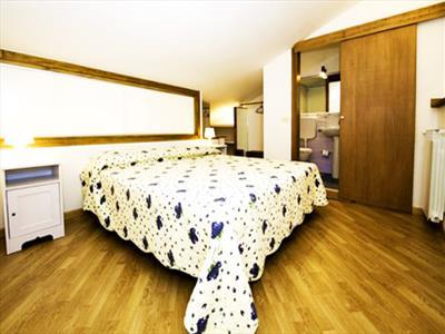 Camera da letto con bagno bilocale Barberini