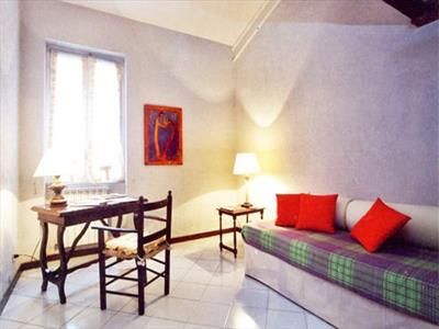zona soggiorno trilocale Barberini