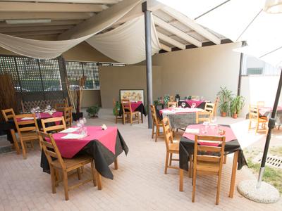 Spazio esterno ristorante