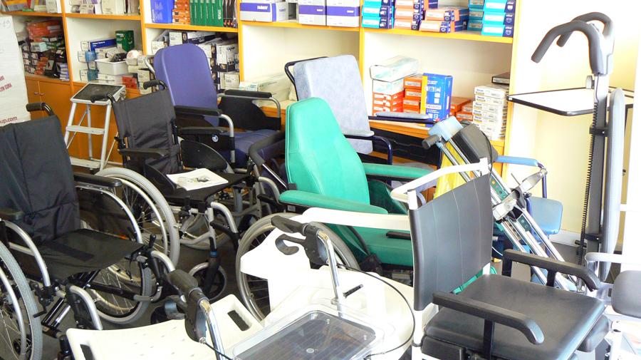 vendita carrozzine per disabili