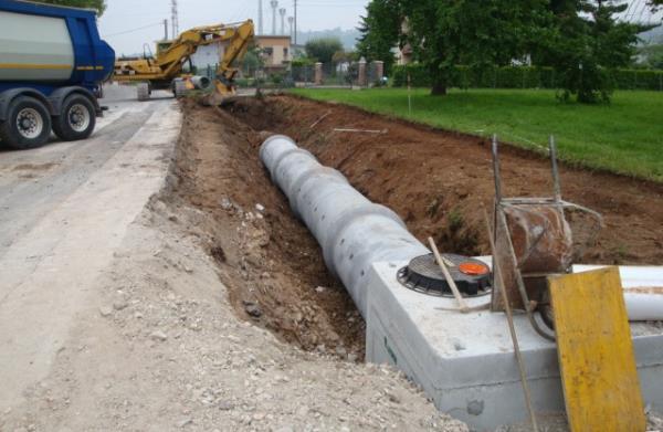 ditta scavi lavori stradali Treviso