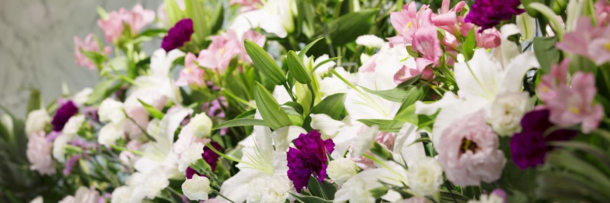 Fornitura addobbi floreali