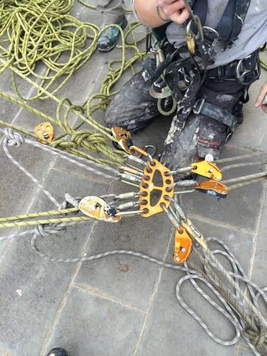 Funi di ancoraggio per tetti