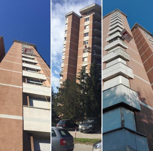 Ristrutturazioni edili senza ponteggio