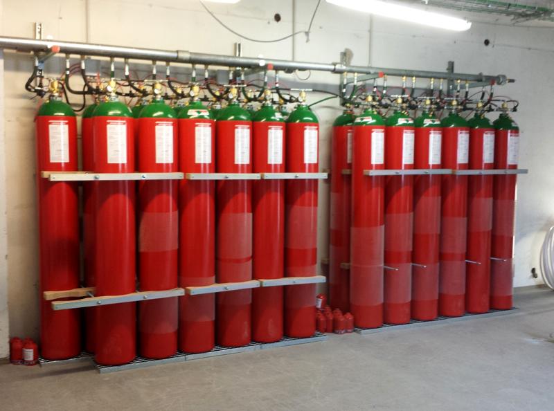 impianti antincendio a gas bergamo