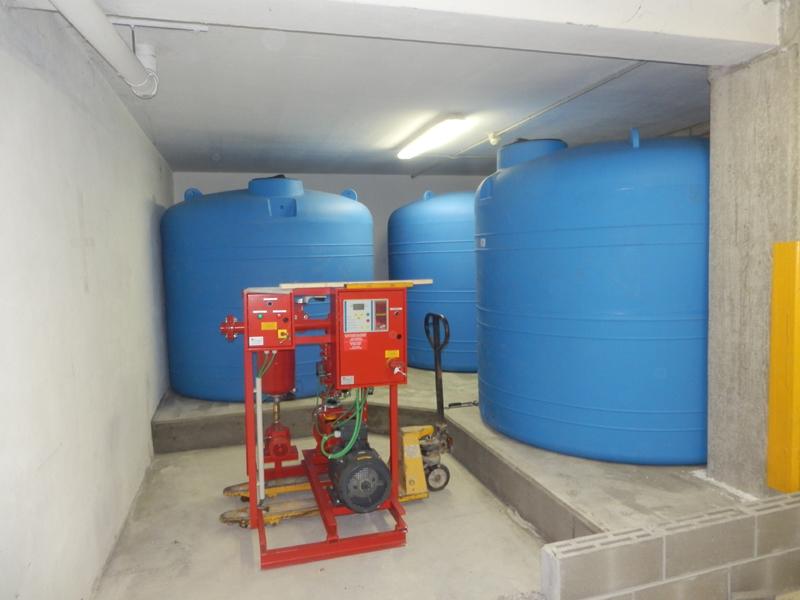 Impianti antincendio ad acqua bergamo