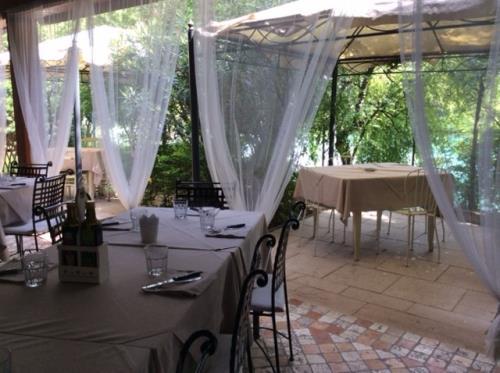 ristorante con terrazza esterna treviso