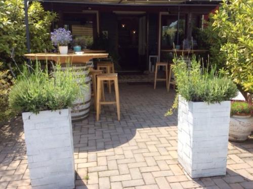 ristorante con giardino estivo treviso
