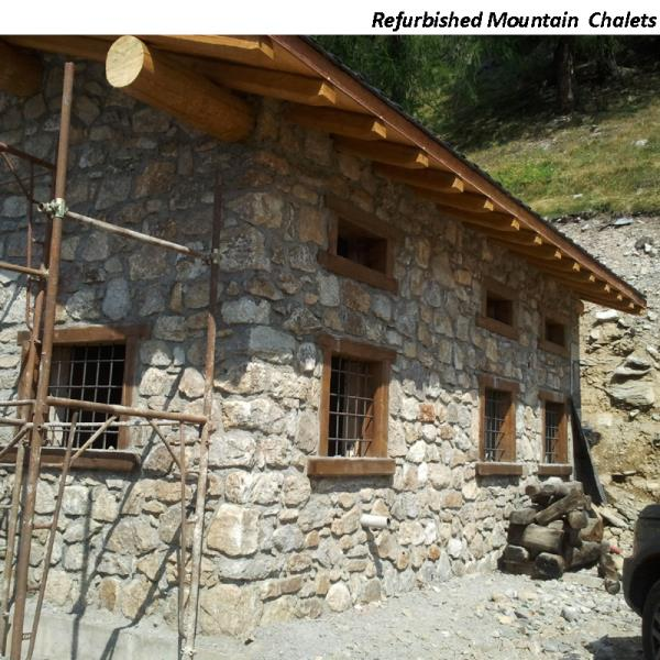 Refurbished Mountain Chalets