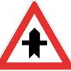 segnale pericolo incrocio