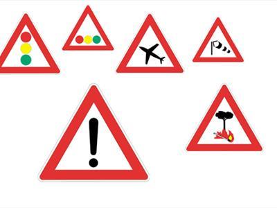 segnali di pericolo