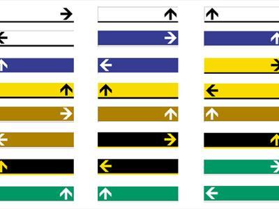 segnali di direzione