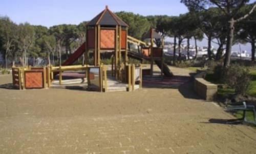 Realizzazione parco giochi vivai mari roma nord