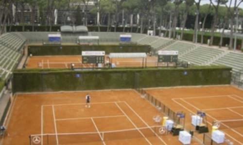 Realizzazione campi da tennis vivai mari roma nord
