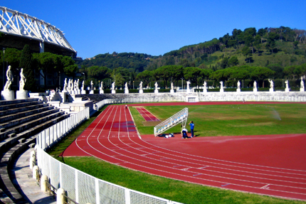 manutenzione aree verdi sportive vivai mari roma nord stadio olimpico