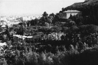 manutenzione giardino storico villa madama vivai mari