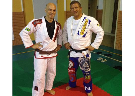 Brazilian Jiu Jitsu - Palestra a Torino