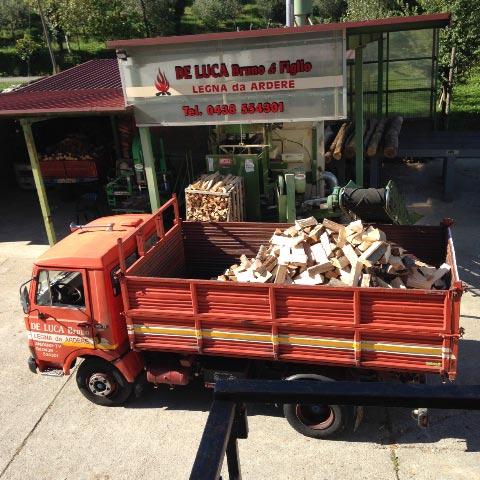 legna da ardere pellet Treviso