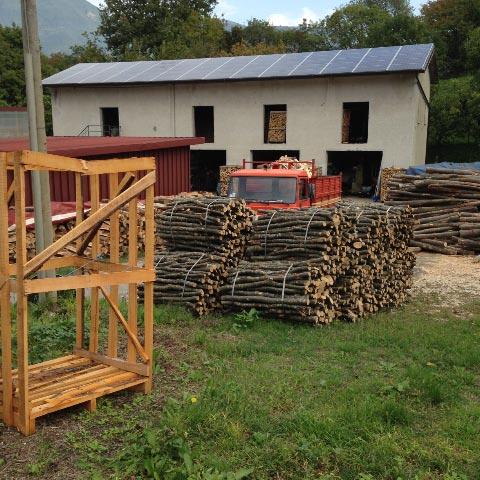 Commercio di legna