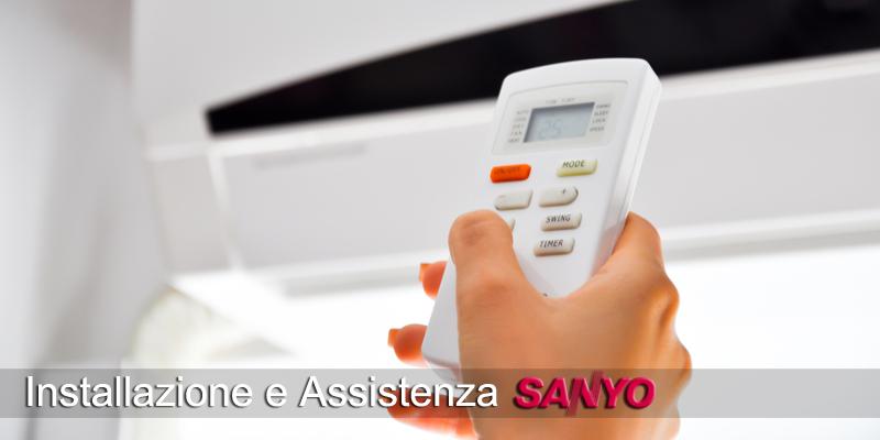 installazione e assistenza climatizzatori e condizionatori Sanyo TeleclimaEnergia Roma