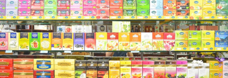 Miscele di tè, infusi e tisane