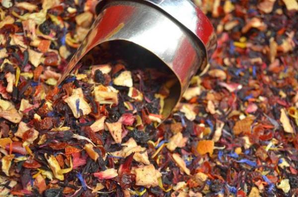 Tea sales Trieste