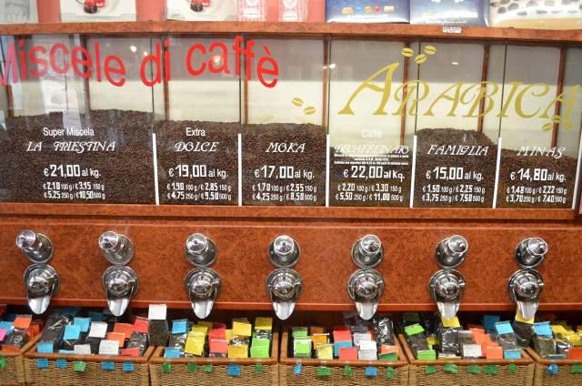 Dégustation de café Trieste
