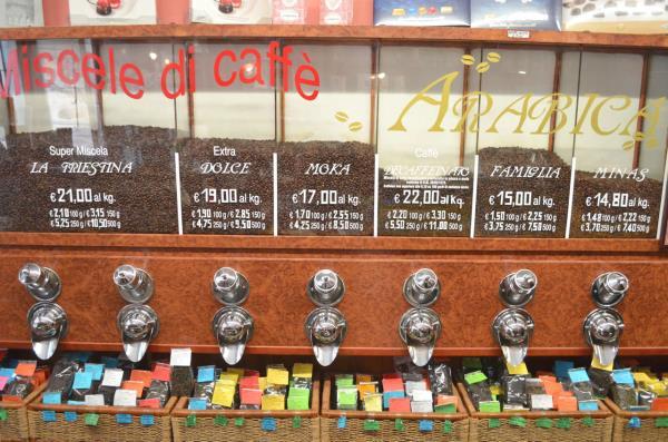 Vente café torréfié Trieste