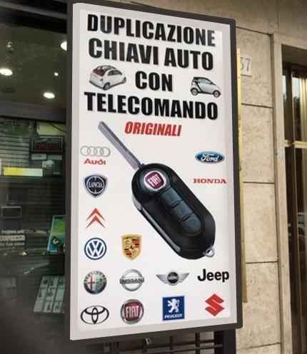 Servizio duplicazione auto e abitazioni Chiavi Roma eur marconi