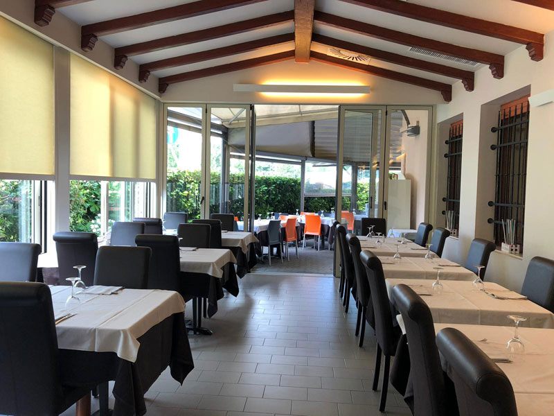 ristorante con veranda brescia