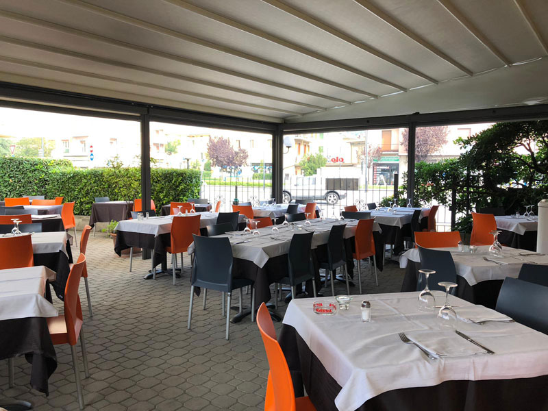 ristorante con giardino brescia