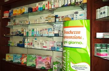 Espositore prodotti farmaceutici