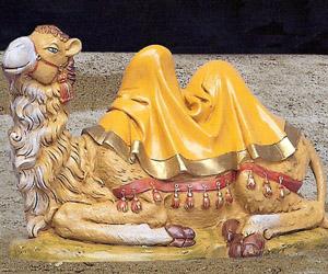 statue presepi cammello seduto