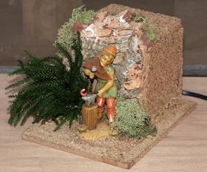 Statue presepi fabbro