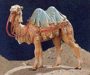 statue presepi cammello in piedi