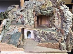 strutture per presepi roma
