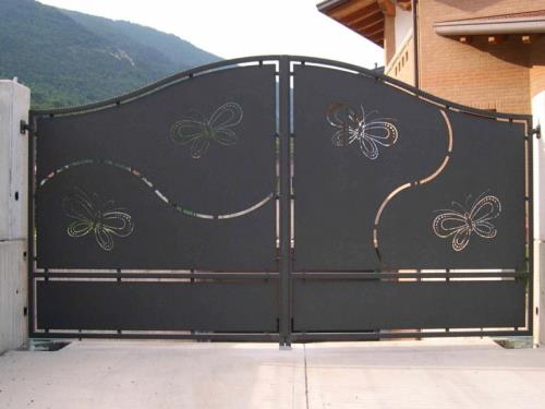 cancello in ferro battuto maniago pn