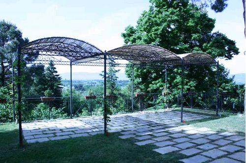 veranda ferro battuto