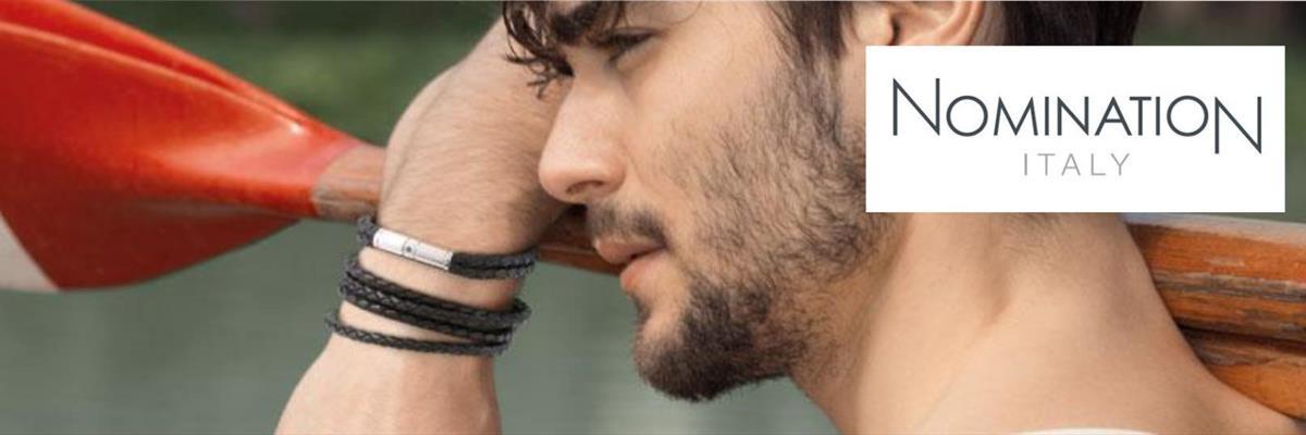 Gioielli Nomination Parma; gioielli Fashion Parma; bracciali uomo Parma